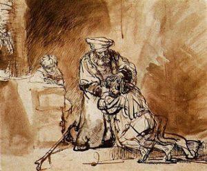 rembrandt etching 1642