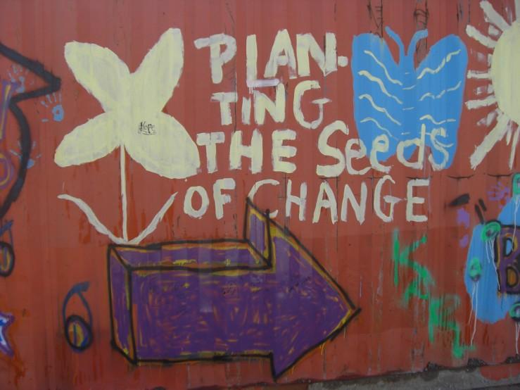 change graffiti aaron gustafson
